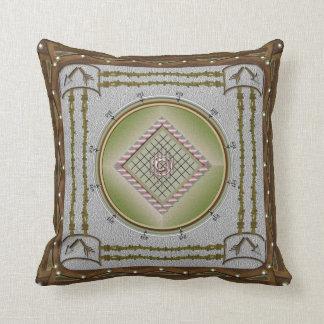 Broken Arrow Cotton Throw Pillow 16x16