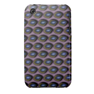 Broken Blue Eyes Case-Mate iPhone 3 Cases