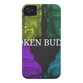 Broken buddha 4 square1 Case-Mate iPhone 4 case