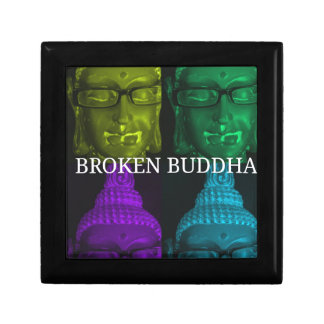 Broken buddha 4 square1 gift box