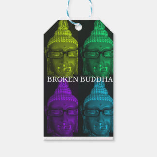Broken buddha 4 square1 gift tags