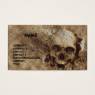 Broken Business Card