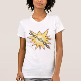 Broken Chain Womens T-Shirt