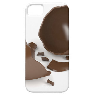 Broken chocolate egg case for the iPhone 5