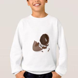 Broken chocolate egg sweatshirt