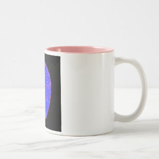 Broken diamond Two-Tone mug