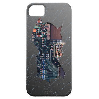 Broken Electronics Barely There iPhone 5 Case