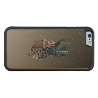 Broken Electronics Maple iPhone 6 Bumper Case