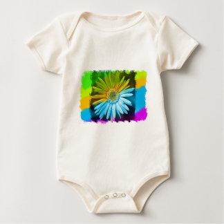 Broken Flower Baby Bodysuit