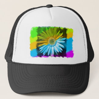 Broken Flower Trucker Hat