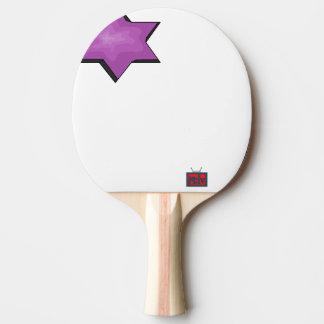 Broken Galaxy Ping Pong Paddle
