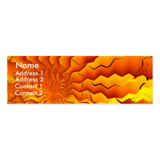 Broken Geometry 3 Abstract Fine Art Pack Of Skinny Business Cards