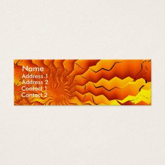 Broken Geometry 3 Abstract Fine Art Mini Business Card
