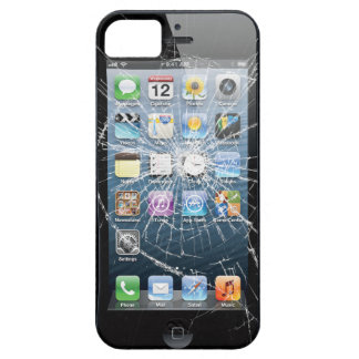 Broken Glass Barely There iPhone 5 Case