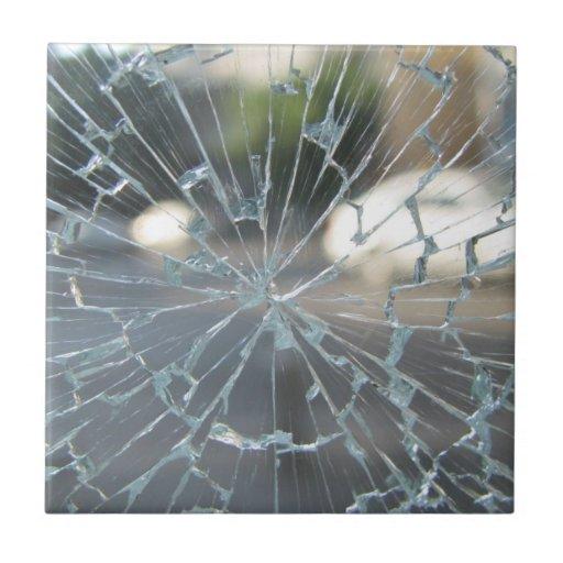 Broken Glass Ceramic Tile