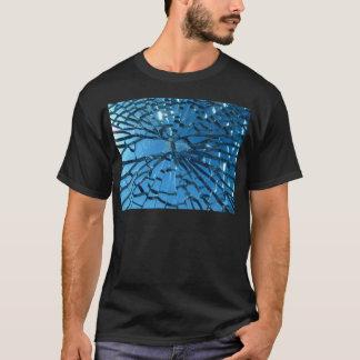 Broken Glass Design T-Shirt