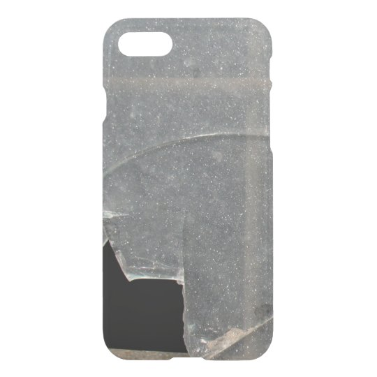 Broken Glass Window With Metal Bar iPhone 8/7 Case