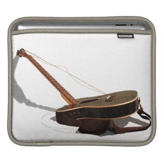 Broken Guitar iPad Sleeve