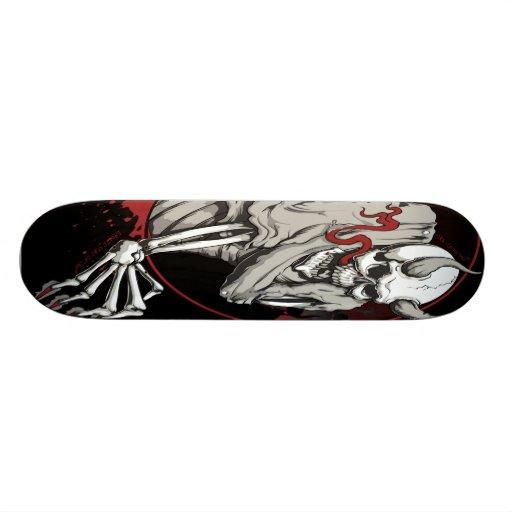 Broken Head Nation® Sira Ulo Nasyon® Skull Skateboard Decks