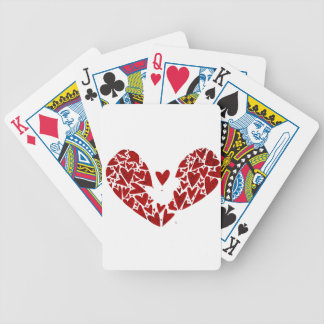 Broken Heart Attack Bicycle Playing Cards