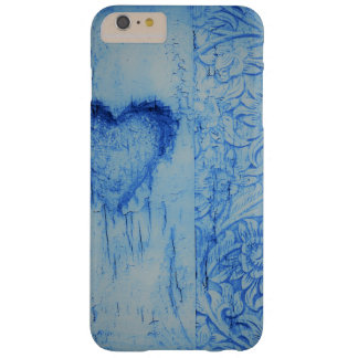 Broken heart blue vintage  iPhone / iPad case