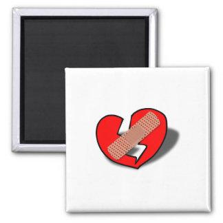 Broken heart clipart magnet