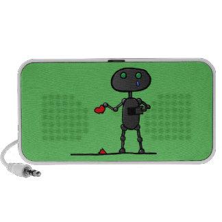 Broken Heart Doodle Speaker
