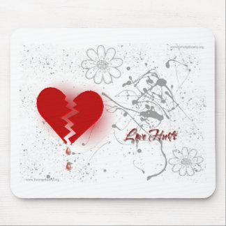 Broken Heart Mouse Pad