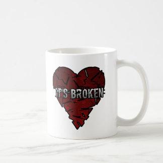 Broken Heart Mugs