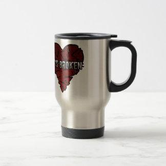 Broken Heart Coffee Mugs