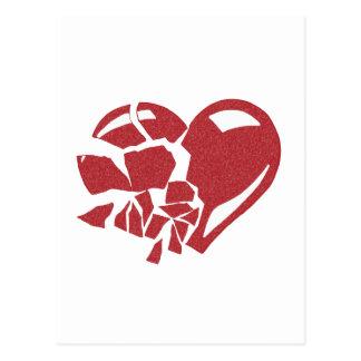 Broken Heart Postcard
