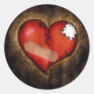 Broken Heart Sticker