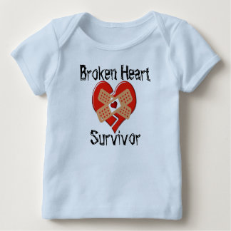 Broken Heart Survivor Lap T-Shirt