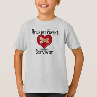Broken Heart Survivor T Shirt