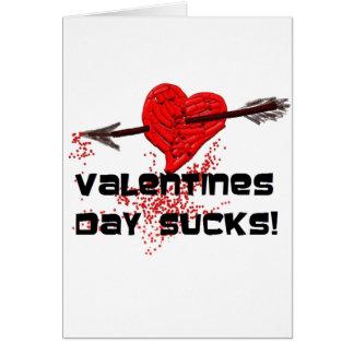 Broken Hearted - Pierced With an Arrow Card