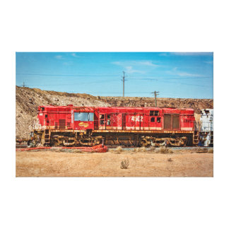 Broken Hill Locomotive Canvas Print