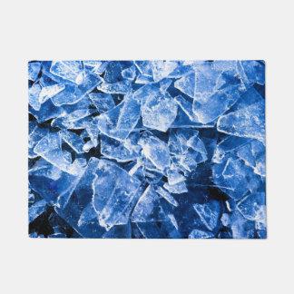 Broken ice doormat