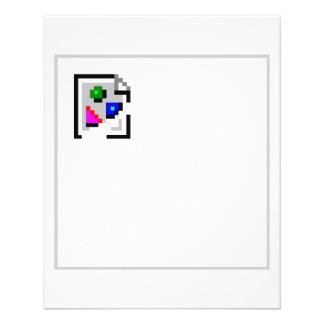 Broken Image JPG JPEG GIF PNG 11.5 Cm X 14 Cm Flyer