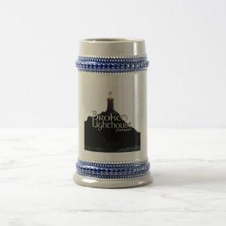 Broken Lighthouse Pictures Beer Mug