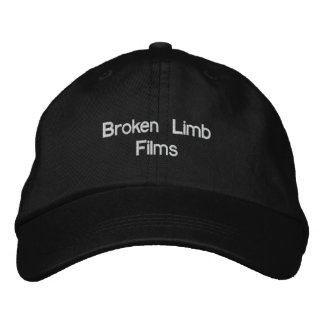 Broken Limb Films Hat Baseball Cap