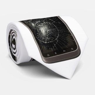 Broken Mobile Phone Tie
