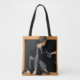 Broken Pearl Necklace Tote Bag