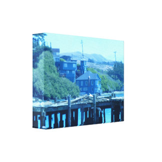 Broken Pier Canvas Print