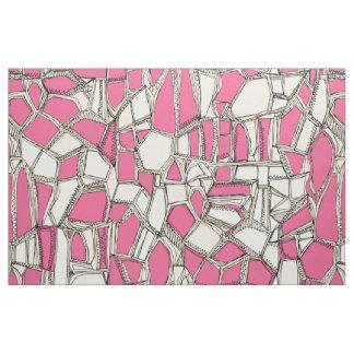 BROKEN POP pink Fabric