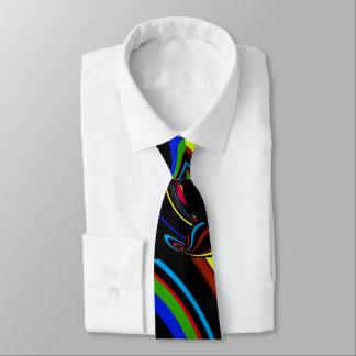 broken rainbow tie
