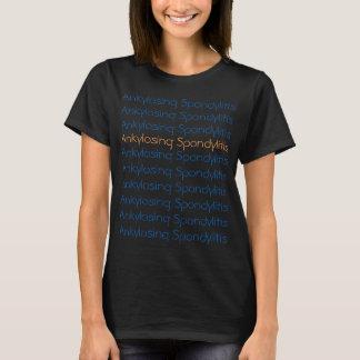 "Broken record ""Ankylosing Spondylitis"" t-shirt"