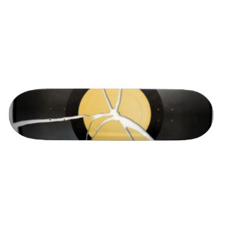 Broken Record Board 21.6 Cm Old School Skateboard Deck