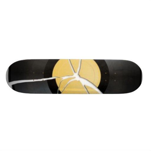 Broken Record Board Custom Skateboard