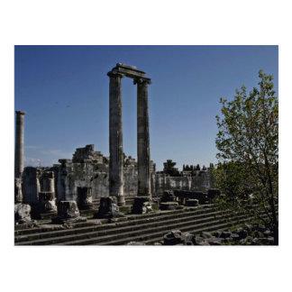 Broken Ruins Of Greek Style Postcard