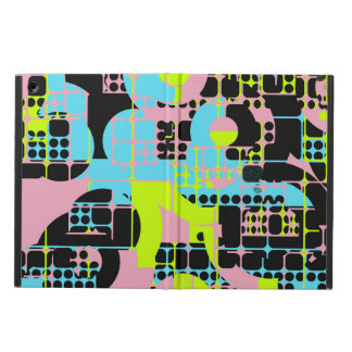 Broken shapes abstract design case for iPad air